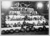 Vegetable display at Interior Provincial Exhibition (1912)