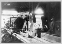Interior of Sawmill