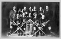 A.A.A.A. Chevrolet team, 1932-1933 Okanagan Valley hockey champions