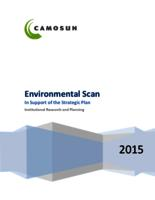 Environmental Scan in Support of the Strategic Plan - 2015