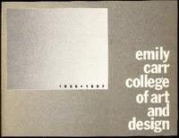 1986-1987 Emily Carr College of Art and Design