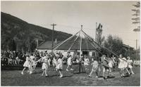 (082) Maypole dance at Sicamous