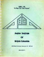 "1980-1985 ""a plan for the future"""