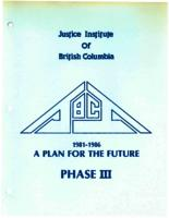 1981-1986 a plan for the future phase III