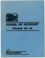 Issues of interest Vol. 28, September 1987