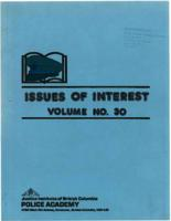 Issues of interest Vol. 30, January 1988