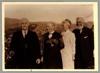 Cornelius O'Keefe, Elizabeth Greenhow with Mr. and Mrs. A.L. Fortune