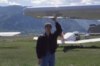 Checking Aileron on a Small Airplane
