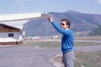 Checking Wing on a Small Airplane