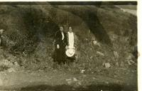 Two Women on Hillside