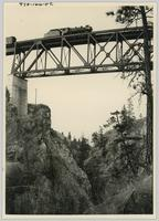 Trout Creek canyon and bridge