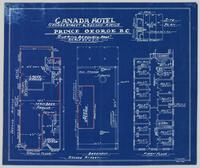 Canada Hotel, George Street and Second Avenue, Prince George, B.C.